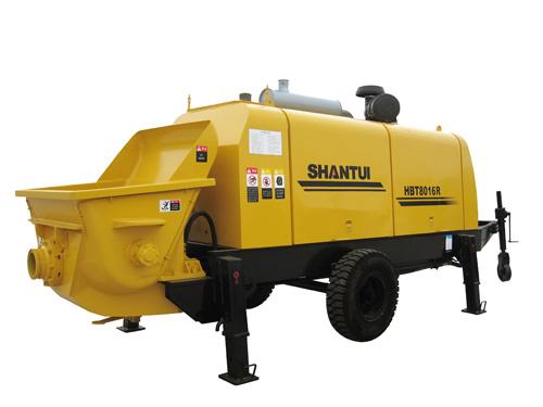 山推HBT8016R-Ⅰ拖式泵