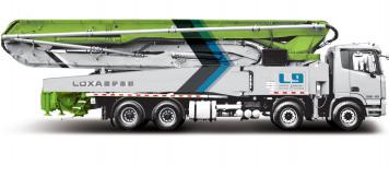 雷萨重机62米泵车