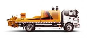 雷萨重机BJ5123THB-9015车载式混凝土输送泵