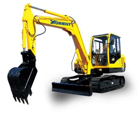 愚公WY75-8履带式挖掘机