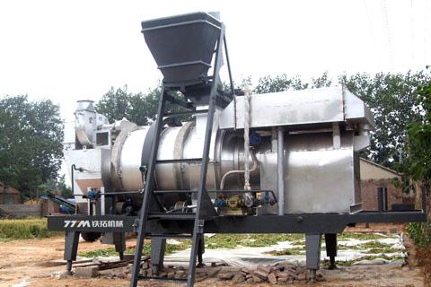 铁拓机械RQB-10沥青混合料全再生设备