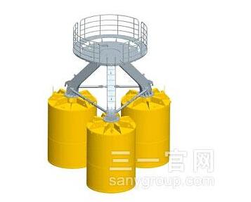 三一重工桶基础海上风电施工装备
