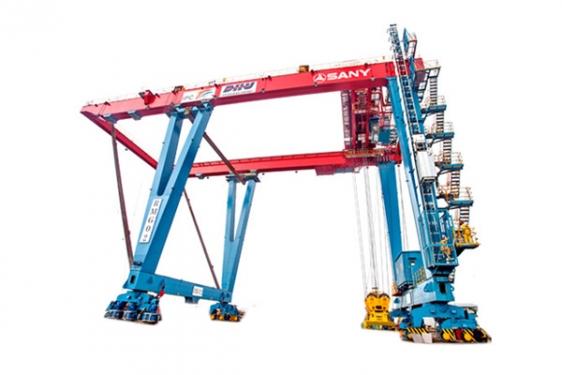 三一重工SRMG5508轨道式集装箱门式起重机