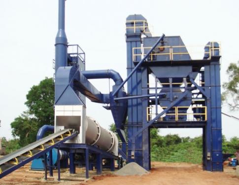 万德机械LB1000沥青搅拌设备