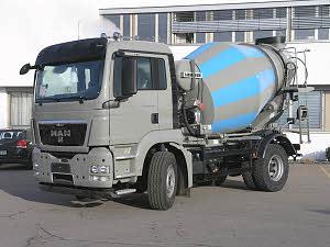 利勃海尔HTM 504搅拌运输车
