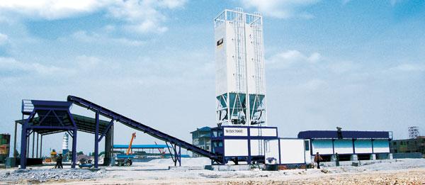 华通动力WBS400E稳定土厂拌设备