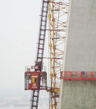 宝达SCQ倾斜式系列施工升降机