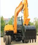 恒特HTL65-8轮式挖掘机
