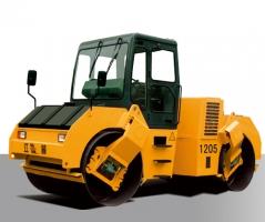 江麓W1205A全液压双钢轮振动压路机