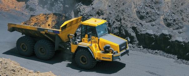 小松HM400-2非公路矿用自卸卡车