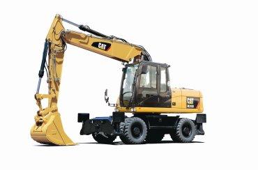 卡特彼勒M318D轮式挖掘机