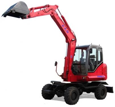七天阳SSD60-7全液压轮式挖掘机
