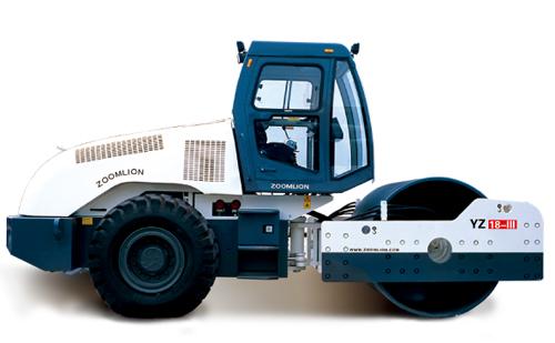 中联重科YZ22-II全液压单驱担单钢轮压路机