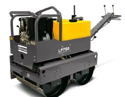 阿特拉斯·科普柯LP750小型手扶双钢轮压路机