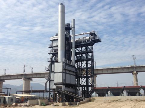 铁拓机械TS2010沥青混合料热再生设备
