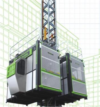 中聯重科SC200/200BG高速梯施工升降機