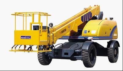 海伦哲XHZS1616米伸缩臂自行走高空作业车