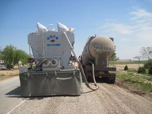 万里智能型水泥撒布机