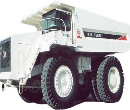 内蒙古北方股份TR100C煤斗型矿用自卸车