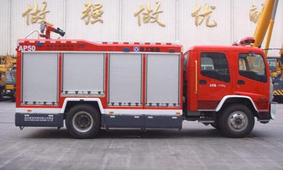 徐工AP50A类泡沫消防车