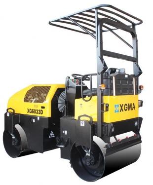 厦工XG6033D双钢轮振动压路机