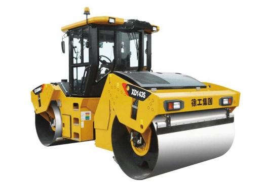 徐工XD143S全液压双钢轮振动压路机