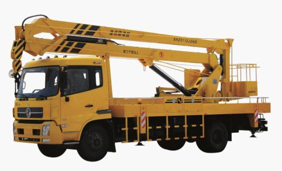 海伦哲XHZ5112JGKB东风20米 折叠臂高空作业车