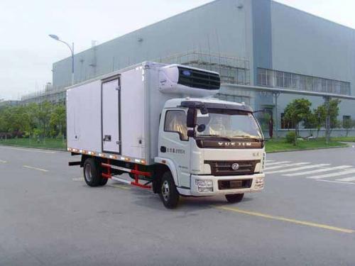 楚飞跃进牌NJ5100XLCDDJT型(5.8吨)冷藏车