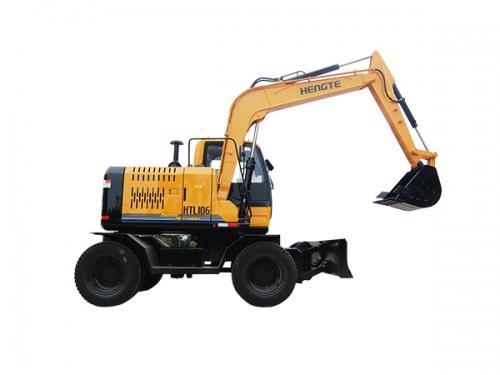 恒特HTL106轮式挖掘机