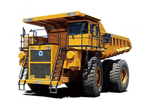 徐工XDE110电传动自卸车
