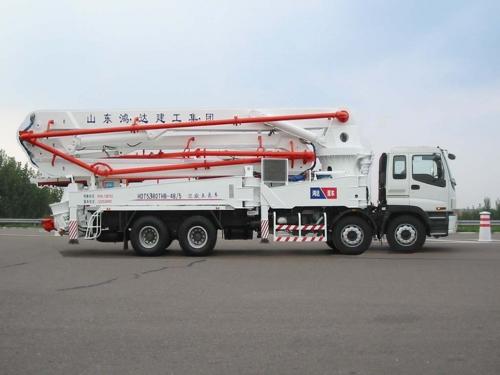 鸿达HDT5380THB泵车