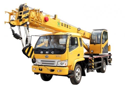 森源重工SMQ5106JQZ 8吨汽车起重机