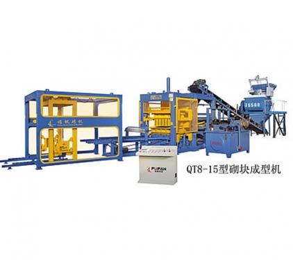 福帆机械QT8-15型砌块成型机砖机