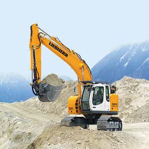 利勃海尔R924 Compact履带式挖掘机