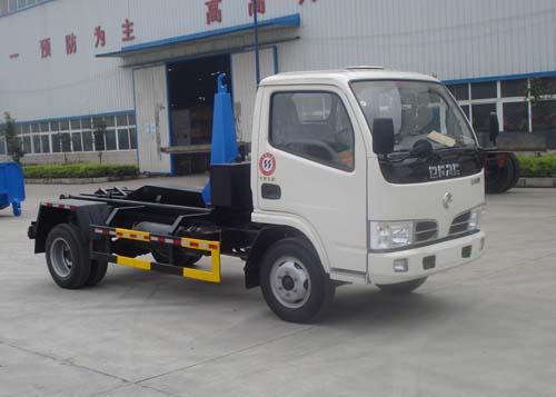 楚飞东风小霸王厢可卸式垃圾车(3.0吨)