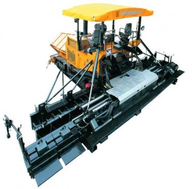 新筑LT7500S履带式伸缩加宽摊铺机