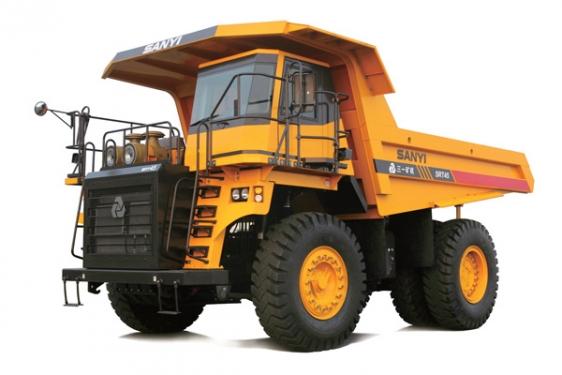 三一重工SRT45矿用自卸车