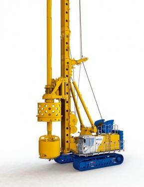 德国宝峨BG45多功能旋挖钻机