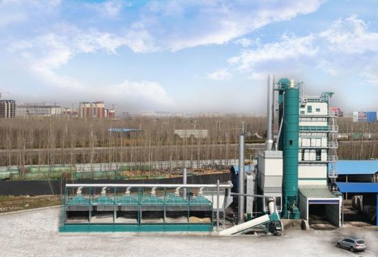 亚龙筑机ZHXB2000H整体式环保沥青混合料搅拌设备