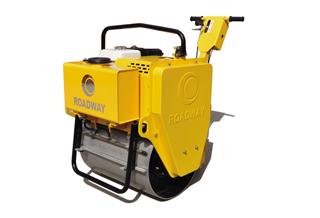 路得威RWYL21小型低配置手推式单钢轮压路机