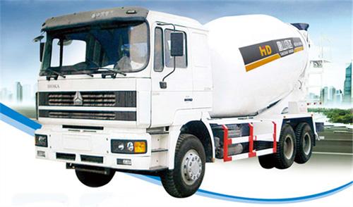 唐鸿重工XT5251GJBZZNC豪卡系列搅拌运输车