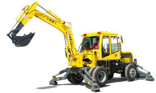 华鑫WYL-8.0B(11.0B)轮式挖掘机