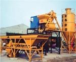 新型HZS25混凝土搅拌站