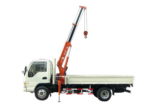 石煤机QYS-1.0ⅡA1吨直臂式随车起重机
