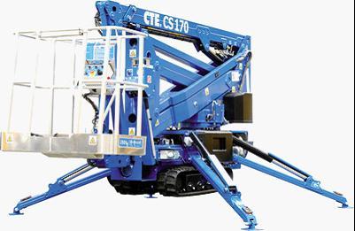 海伦哲CTECS17017米 混合臂自行走高空作业车