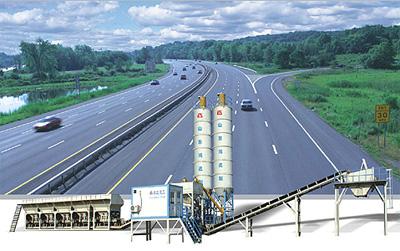 鸿达WCB300模块式稳定土厂拌设备