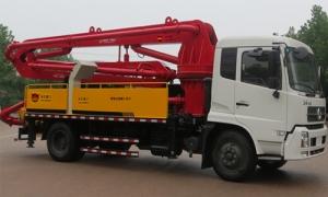 天亿重工臂架式混凝土泵车