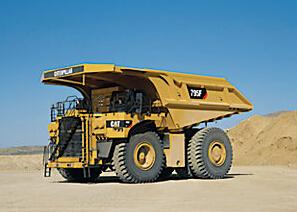 卡特彼勒795F AC采矿卡车