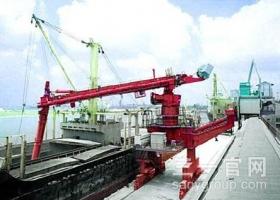 三一重工1000系列SM640T螺旋式连续卸船机