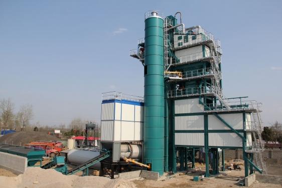 亚龙筑机SLB1000沥青混合料搅拌设备